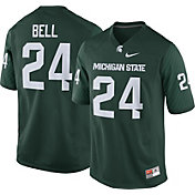 Nike Men's Le'Veon Bell Michigan State Spartans #24 Green Replica College Alumni Jersey