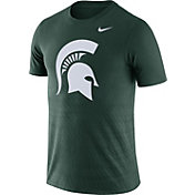 Nike Men's Michigan State Spartans Green Ignite T-Shirt
