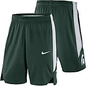 Nike Men's Michigan State Spartans Green Replica Basketball Shorts