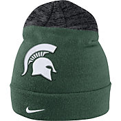 Nike Men's Michigan State Spartans Green/Grey Sideline Beanie