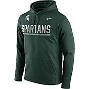 Nike Men's Michigan State Spartans Green Circuit PO Hoodie