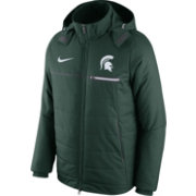 Nike Men's Michigan State Spartans Green Sideline Jacket