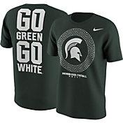 Nike Men's Michigan State Spartans Green 2016 Football Fan T-Shirt
