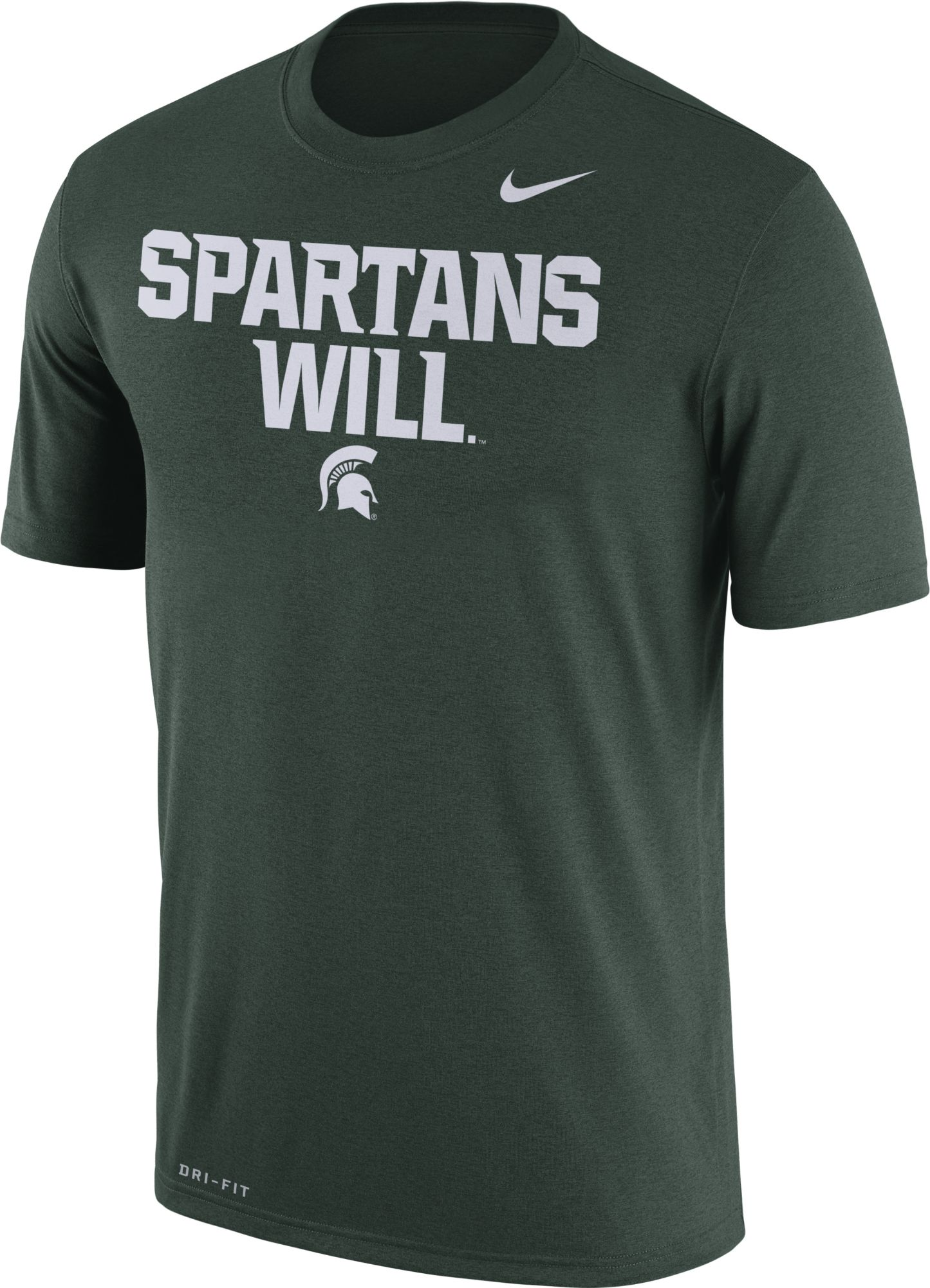 Black t shirts kohls - Product Image Nike Men S Michigan State Spartans Green Spartans Will Authentic Local Legend T Shirt