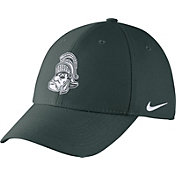Nike Men's Michigan State Spartans Green Vault Dri-FIT Swoosh Flex Hat