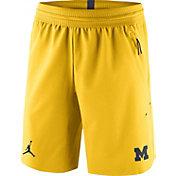 Jordan Men's Michigan Wolverines Maize 23 Tech Flex SE Shorts