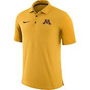 Nike Men's Minnesota Golden Gophers Gold Team Issue Football Sideline Performance Polo