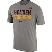 Nike Men's Minnesota Golden Gophers Grey Ignite Verbiage Legend T-Shirt