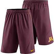 Nike Men's Minnesota Golden Gophers Maroon Fly XL 5.0 Football Sideline Shorts