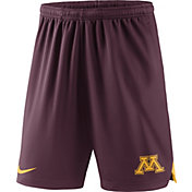 Nike Men's Minnesota Golden Gophers Maroon Knit Football Sideline Performance Shorts