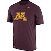 Nike Men's Minnesota Golden Gophers Maroon Logo Dry Legend T-Shirt