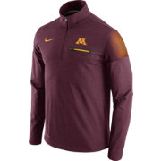 Nike Men's Minnesota Golden Gophers Maroon Elite Coaches Half-Zip Shirt