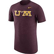 Nike Men's Minnesota Golden Gophers Heathered Maroon Vault Tri-Blend T-Shirt