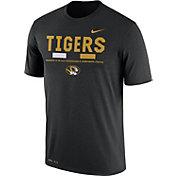Nike Men's Missouri Tigers Football Staff Legend Black T-Shirt