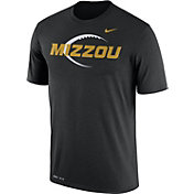 Nike Men's Missouri Tigers Football Icon Legend Black T-Shirt
