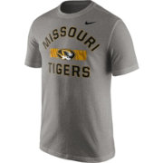 Nike Men's Missouri Tigers Grey Stadium Team First Stripe T-Shirt