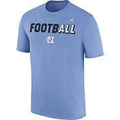 Jordan Men's North Carolina Tar Heels Carolina Blue FootbALL Sideline Legend T-Shirt
