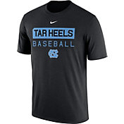Nike Men's North Carolina Tar Heels Team Issue Legend Baseball Black T-Shirt