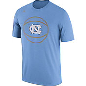 Jordan Men's North Carolina Tar Heels Carolina Blue Basketball Legend T-Shirt