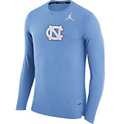 Jordan Men's North Carolina Tar Heels Carolina Blue March Basketball Performance Long Sleeve Shirt