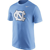 Nike Men's North Carolina Tar Heels Carolina Blue Logo T-Shirt