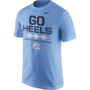 Nike Men's North Carolina Tar Heels Carolina Blue 'Go Heels' Local Verbiage T-Shirt