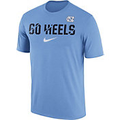 Nike Men's North Carolina Tar Heels Carolina Blue Ignite Verbiage Legend T-Shirt