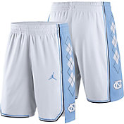 Jordan Men's North Carolina Tar Heels White Replica Basketball Shorts