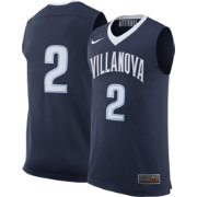 Nike Men's Villanova Wildcats #2 Navy Replica ELITE Basketball Jersey