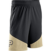Nike Men's Purdue Boilermakers Black/Old Gold New Classics Basketball Shorts