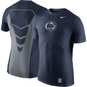 Nike Men's Penn State Nittany Lions Blue Hypercool Fitted Performance T-Shirt