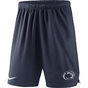 Nike Men's Penn State Nittany Lions Blue Knit Football Sideline Performance Shorts