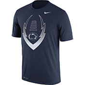 Nike Men's Penn State Nittany Lions Blue Football Icon Legend T-Shirt