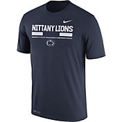 Nike Men's Penn State Nittany Lions Blue Football Staff Legend T-Shirt