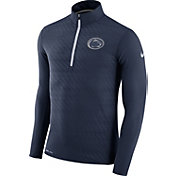 Nike Men's Penn State Nittany Lions Blue Element Quarter-Zip Shirt
