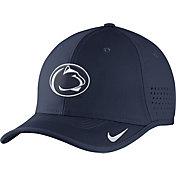 Nike Men's Penn State Nittany Lions Blue Vapor Sideline Coaches Hat