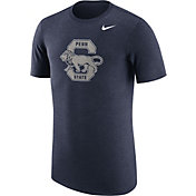 Nike Men's Penn State Nittany Lions Heathered Blue Vault Tri-Blend T-Shirt