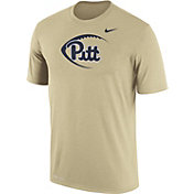 Nike Men's Pitt Panthers Gold Football Icon Legend T-Shirt