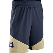 Nike Men's Pitt Panthers Blue/Gold New Classics Basketball Shorts