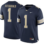 Nike Men's Larry Fitzgerald Pitt Panthers #1 Blue Replica College Alumni Jersey