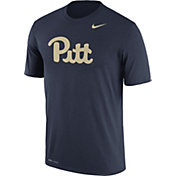 Nike Men's Pitt Panthers Blue Logo Dry Legend T-Shirt