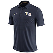 Nike Men's Pitt Panthers Blue Early Season Football Polo