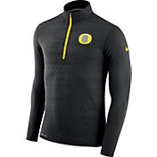 Nike Men's Oregon Ducks Black Element Quarter-Zip Shirt