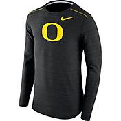 Nike Men's Oregon Ducks Player Black Dri-FIT Touch Performance Long Sleeve Shirt