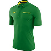 Nike Men's Oregon Ducks Apple Green Basketball Polo