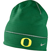 Nike Men's Oregon Ducks Apple Green Champ Drive Fleece Beanie