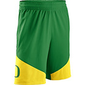Nike Men's Oregon Ducks Apple Green/Yellow New Classics Basketball Shorts