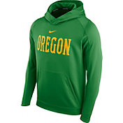 Nike Men's Oregon Ducks Apple Green Circuit Basketball Hoodie