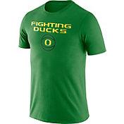 Nike Men's Oregon Ducks Apple Green Basketball T-Shirt