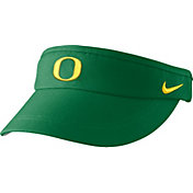 Nike Men's Oregon Ducks Apple Green Sideline Performance Visor